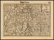 China, Korea and Southeast Asia Map By Barent Langenes