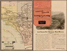 California Map By Rand McNally & Company