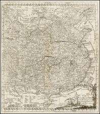 China Map By Johann Justine Gebauers