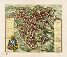 Italy Map By Matheus Merian
