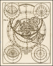 Northern Hemisphere and Polar Maps Map By Heinrich Scherer