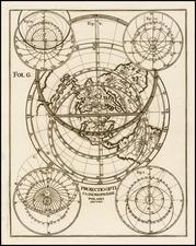 Northern Hemisphere and Polar Maps Map By Heinrich Scherer