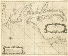 Southeast Map By Arent Roggeveen / Jacobus Robijn