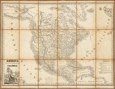 North America Map By Stanislao Stucchi