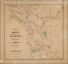 California Map By Leander Ransom