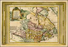 Canada Map By Pieter van der Aa
