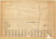 Massachusetts Map By John B. Bachelder