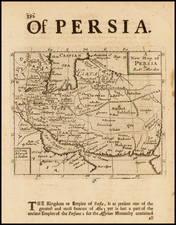 Central Asia & Caucasus and Persia Map By Robert Morden