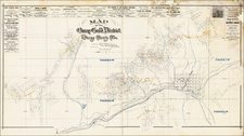 Southwest and Rocky Mountains Map By Wheeler & Hurlburt