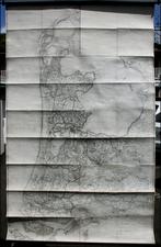 Netherlands Map By Carl  Friedrich von Wiebeking