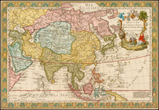 Asia and Asia Map By Guillaume Danet