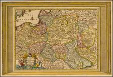 Poland Map By Pieter van der Aa
