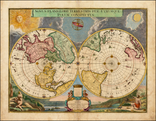 World, World and Polar Maps Map By Gerard Valk