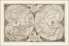 World, World and Polar Maps Map By Antonio Lafreri / Antonio Salamanca