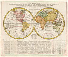 World Map By Homann Heirs