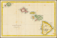 Hawaii and Hawaii Map By Samuel Hill