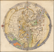 World and World Map By Johann Bongars / Pietro Vesconte