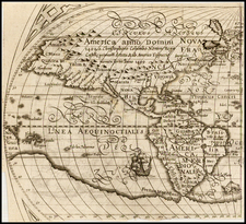 North America and South America Map By Ephraim Pagitt