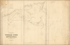 New England Map By George Eldridge