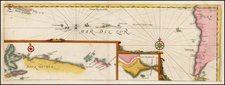 South America, Pacific, Australia and Oceania Map By Réne Augustin Constantin De Renneville