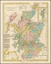 Scotland Map By Robert Wilkinson
