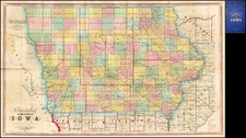 Midwest and Plains Map By Henn, Williams & Co.
