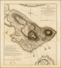 New England and Massachusetts Map By Charles Stedman / William Faden