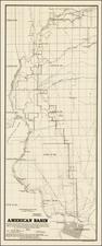 California Map By Julius C. Henkenius