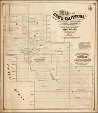 California Map By John Mullan