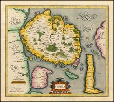 Baltic Countries and Scandinavia Map By Gerhard Mercator