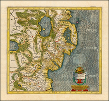 Ireland Map By  Gerard Mercator