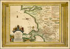 South Africa Map By Pieter van der Aa
