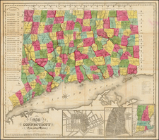Connecticut Map By Brown & Gross