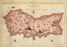 Spain and Balearic Islands Map By Gerard Van Keulen