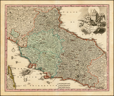 Northern Italy and Southern Italy Map By Christopher Weigel