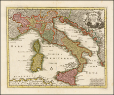 Italy Map By Christopher Weigel