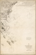 Southeast Asia Map By British Admiralty
