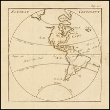 South America and America Map By Anonymous