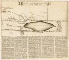 Holy Land Map By Francois Halma
