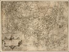 Asia Map By Hernando de Solis