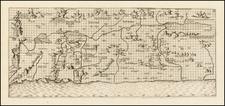 Holy Land Map By Johann Bongars / Pietro Vesconte