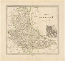 Ukraine Map By Alexey Ilyin