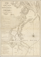 South Carolina Map By Thomas Jefferys  &  William Faden