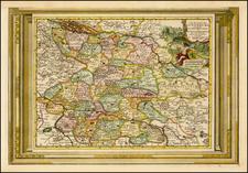 Map By Pieter van der Aa