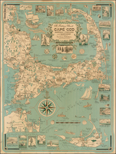 New England Map By Ernest Dudley Chase