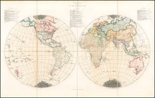 World and World Map By Edward Quin