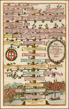 Portugal Map By Antonio Albizzi