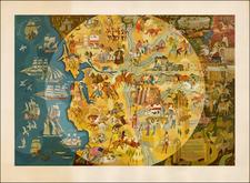 California Map By Michael Shute