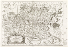 Poland Map By Maurille Antoine Moithey / Etienne-Andre Philippe  De Pretot