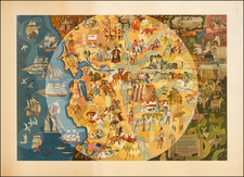 Pictorial Maps and California Map By Michael Shute
